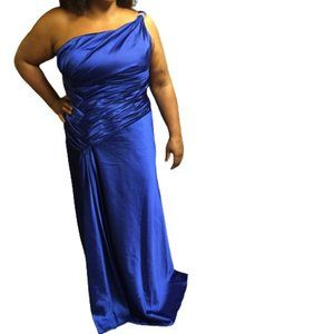 Esha Couture Size 14 Blue Dress